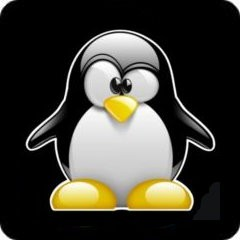 Notebook-Sticker - 3D Tux