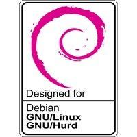 Notebook-Sticker - Debian GNU/Hurd