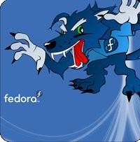 Notebook-Sticker - Fedora Werewolf