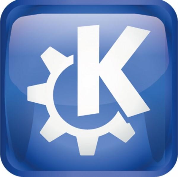Maxi-Sticker - KDE Oxygen Logo