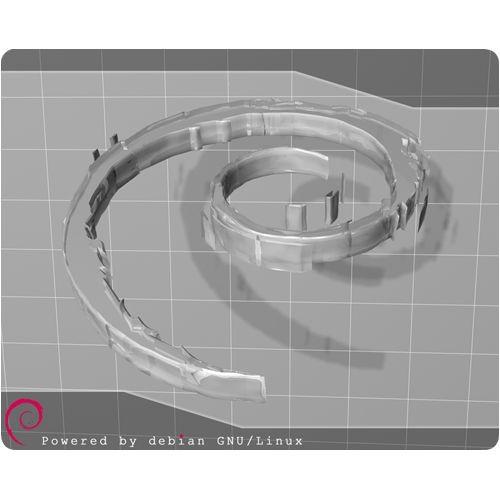 Mauspad - Debian powered