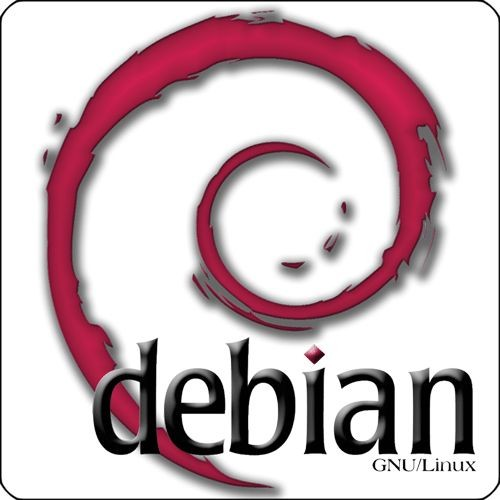 Maxi-Sticker - Debian