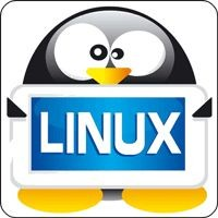 Notebook-Sticker - Tux Linux