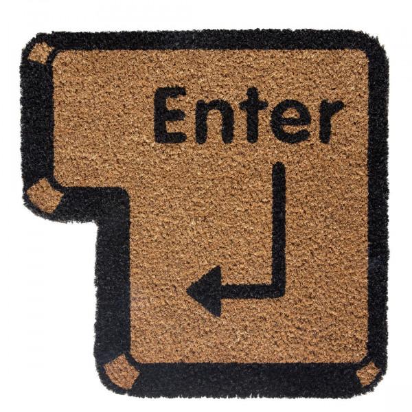 Fußmatte Enter