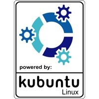Notebook-Sticker - kubuntu Nr.1