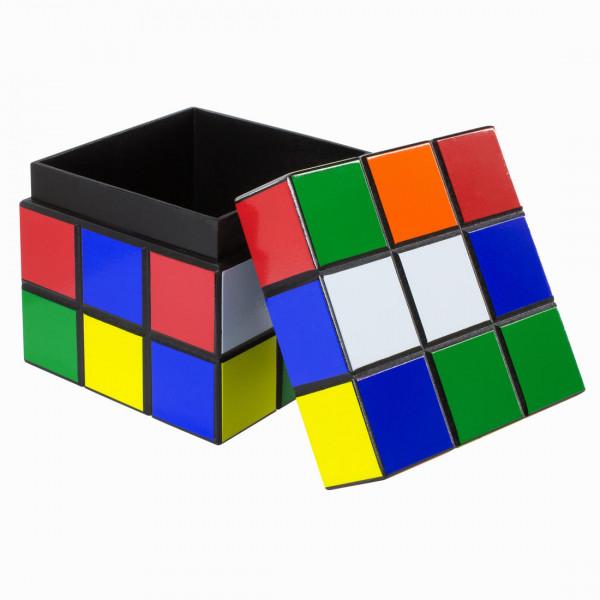 Zauberwürfel Holzbox