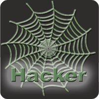 Notebook-Sticker - Hacker