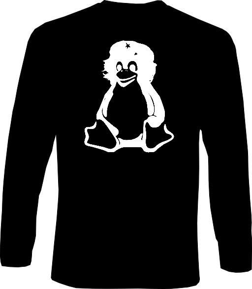 Langarm-Shirt - Tux Guevara