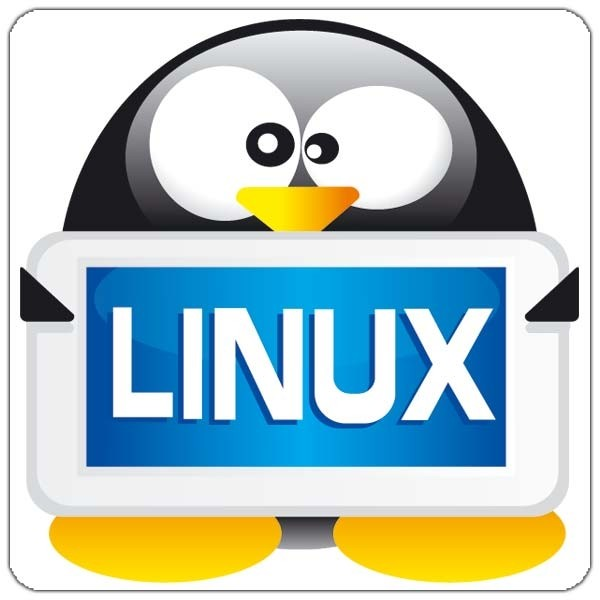 Maxi-Sticker - Linux Tux