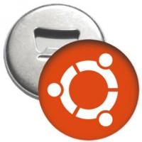 Flaschenöffner + Magnet - ubuntu Logo