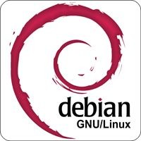 Notebook-Sticker - Debian GNU/Linux