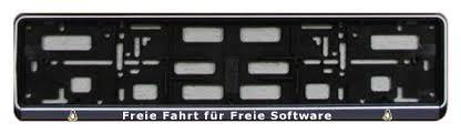 Kennzeichen Halter - Freie Software