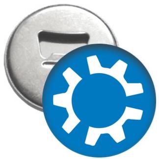 Flaschenöffner + Magnet - kubuntu Logo