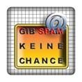 PC-Sticker - Gib Spam keine Chance