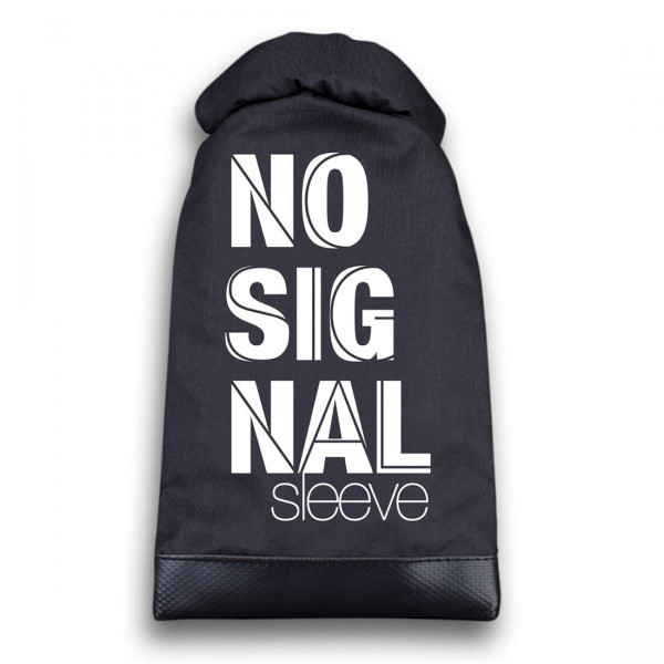 No Signal Sleeve Smartphone-Tasche