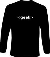 Langarm-Shirt - geek