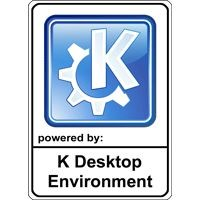 Notebook-Sticker - KDE Nr.1