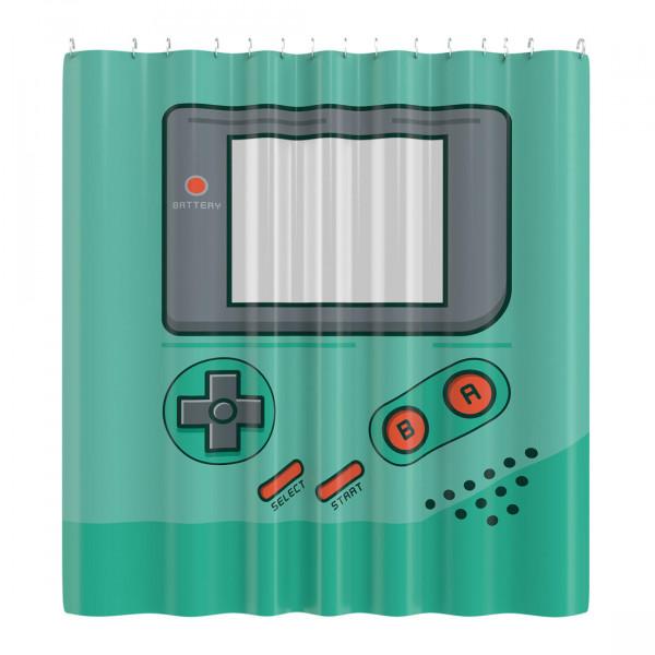Tragbare Spielkonsole Duschvorhang