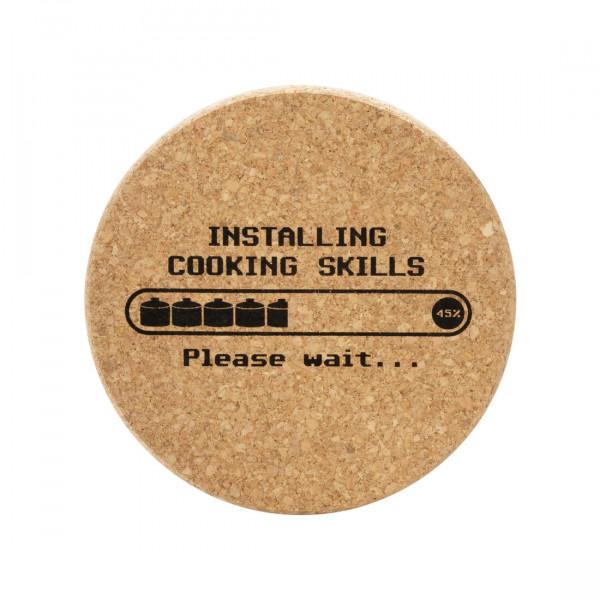 Topfuntersetzer Installing Cooking Skills