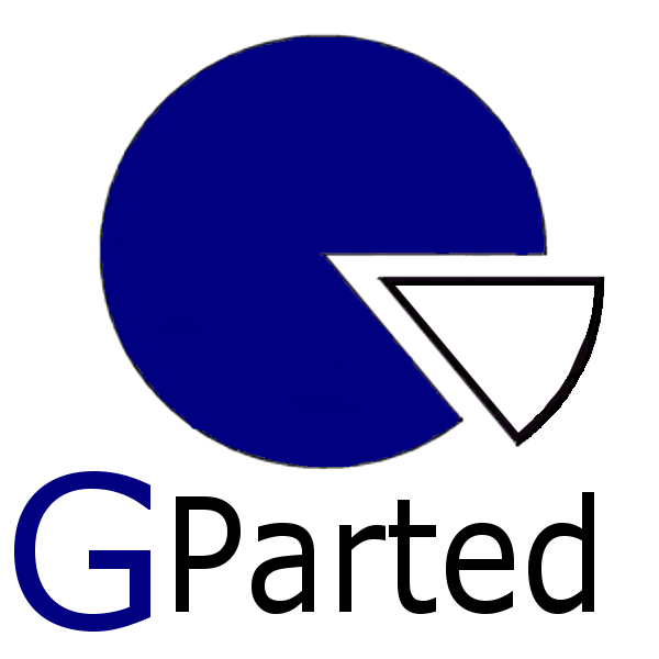 GParted 1.0.0-3 - USB-Stick